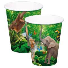 Papirnati kozarci Safari, 250 ml, 8 kom