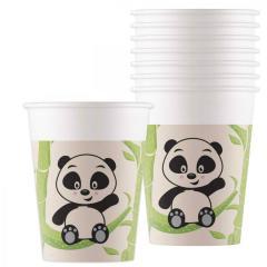 Papirnati kozarci Panda, 200 ml, 8 kom