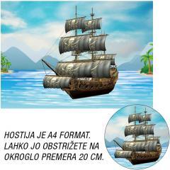 Hostija Gusarji-Pirati A4