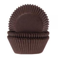 HoM papirčki za muffine RJAVI