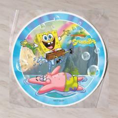 Hostija Spuži kvadratnik, Sponge BOB 15 cm, modra