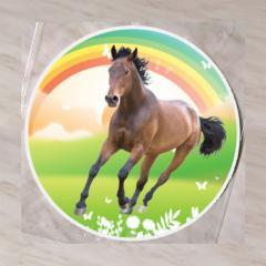 Hostija Konj, Rjav 15 cm