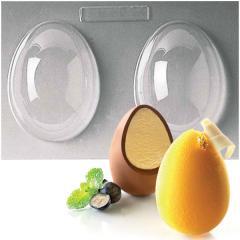 Silikomart plastičen modelček čokoladno jajce
