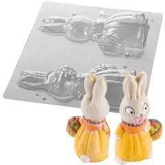 Silikomart plastičen modelček velikonočni zajček