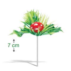 Gobica za dekoracijo sladic (7 cm)