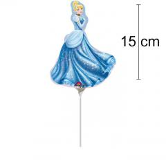 MINI folija balon Pepelka 15 cm