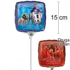 MINI folija balon Star Wars 15 cm