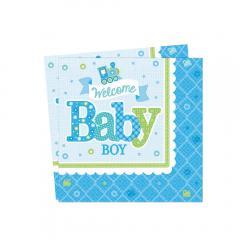 Servieti za prvi rojstni dan - BABY FANTEK, manjši