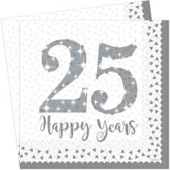 Servieti 25 obletnica poroke
