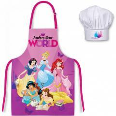 Disney Princeske predpasnik + kapa št.2