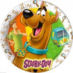 Papirnati krožniki Scooby Doo 23 cm