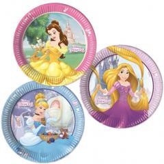 Papirnati krožniki Disney Princeske 23 cm