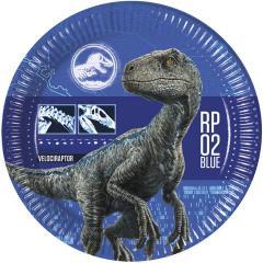 Papirnati krožniki Dinozavri 23 cm