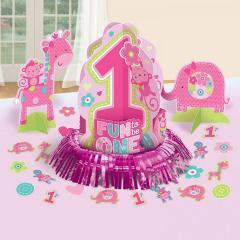 Namizna dekoracija za prvi rojstni dan