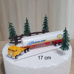 Dekoracija za torto - Kamion, komplet