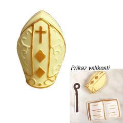 Zlata Škofova kapa, tortni okras za Sveto Birmo