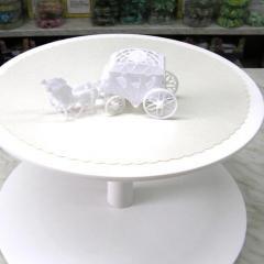 Figurica za torto - poročna KOČIJA