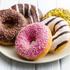 Ameriški (donuts) krofki iz pečice