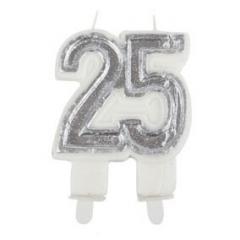 Svečka za 25 let, srebrna obletnica poroke