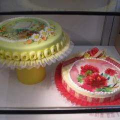 Na kakšno podlago damo sliko za torto (hostijo)?