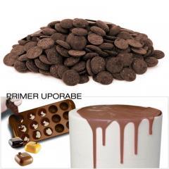 Čokolada za topljenje - MLEČNE ploščice 300g