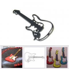 Patchwork modelček električna kitara