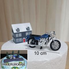 Dekoracija za torto - Motor, komplet