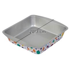 Wilton kvadratni pekač za enkratno uporabo 20,3 cm
