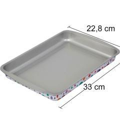 Wilton pločevina GEOMETRIJSKA TELESA za biskvit, 33x22.8cm