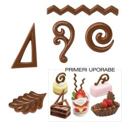 Modelček za čokoladne dekoracije