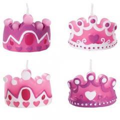 Svečke za torto Princeskine krone
