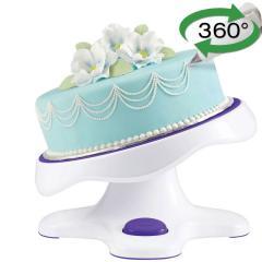 Wilton vrtljiv podstavek za torte z nagibom