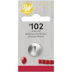 Wilton nastavek za cvetne liste Tip#102, manjši, 8 mm