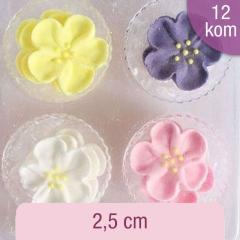 Sladkorne raznobarvne divje vrtnice, 12 kom