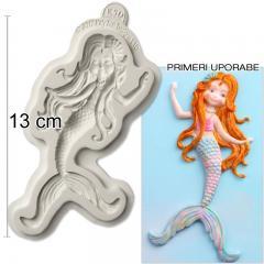 Silikonski modelček Morska deklica
