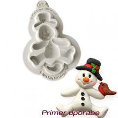 Katy Sue silikonski Modelček Snežak