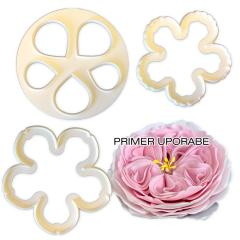 Modelček za angleško vrtnico, 3 delni