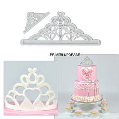 Modelček Tiara - dvojna krona