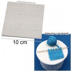 Silikonski modelček pletenje