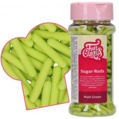 Mat zelene sladkorne palčke (XL) 2 cm