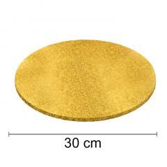 Podstavek 30cm, debelina 10mm – Zlat