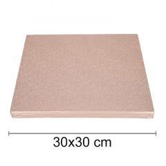 Podstavek 30x30cm, debelina 10mm – Roza Zlat (rose gold)