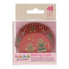 Papirčki za muffine MEDENI MOŽ, 48 kom, FunCakes