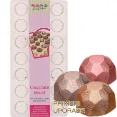 FunCakes modelček za čokolado, diamanti