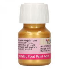 Metalik Zlata barva za živila