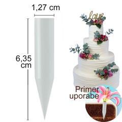 Vstavek za cvetje, velikost 7 cm