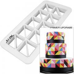 Geometrijski modelček Pravokotni Trikotnik L