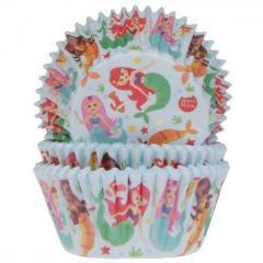 HoM - Papirčki za muffine ARIELA morska deklica