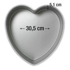 PME pekač srce 30,5 cm, višina 5,1 cm