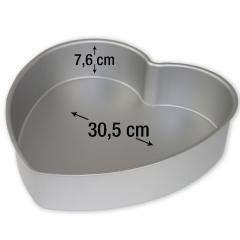 PME pekač srce za torte 30,5 cm, višina 7,6 cm